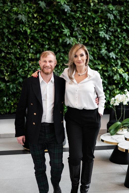 Dr Marcin i Monika Bogurscy (fot. Alla Boroń - Studio Prototypownia)